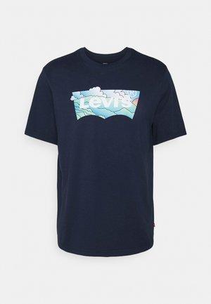 RELAXED FIT TEE - T-shirt imprimé - dress blues