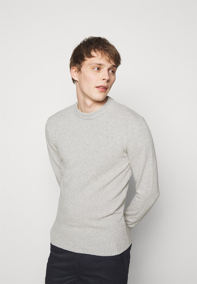 VINCENT - Strickpullover - grey