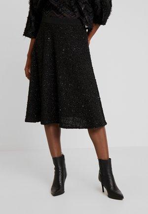 SUSANNE SKIRT - Áčková sukně - black