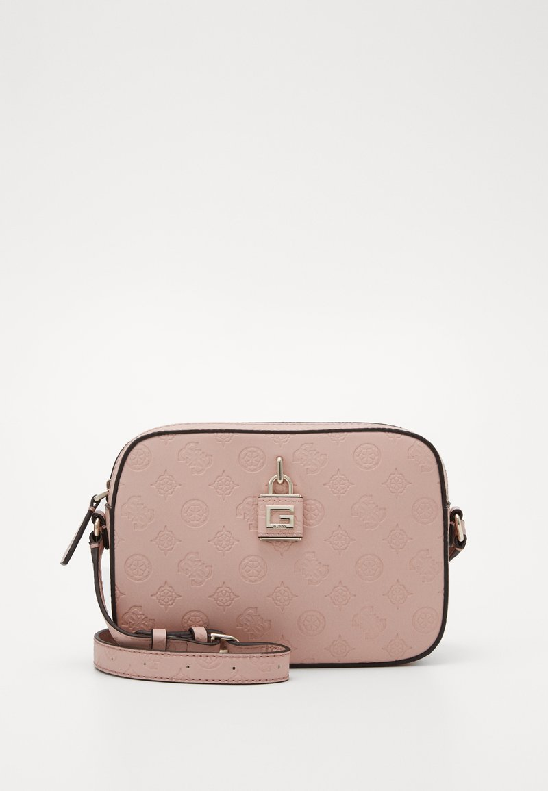 Guess - KAMRYN CROSSBODY TOP ZIP - Skulderveske - rose