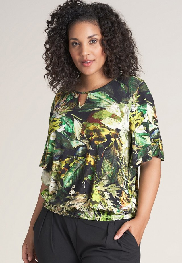 MONA - T-shirt print - green