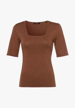 T-shirt basic - almond