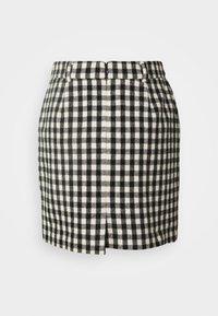 2nd Day - CHARITON CHECK - Mini skirt - black - 6