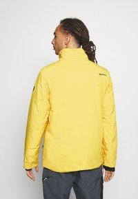 Brunotti - BORAN MENS SNOWJACKET - Snowboardová bunda - cyber yellow - 3