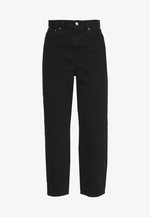 BALLOON LEG - Relaxed fit jeans - black