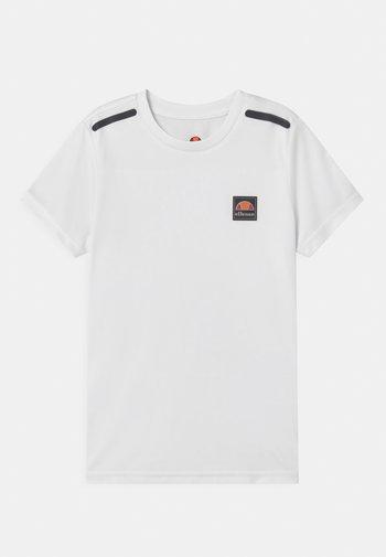 ROLLO UNISEX - Print T-shirt - white