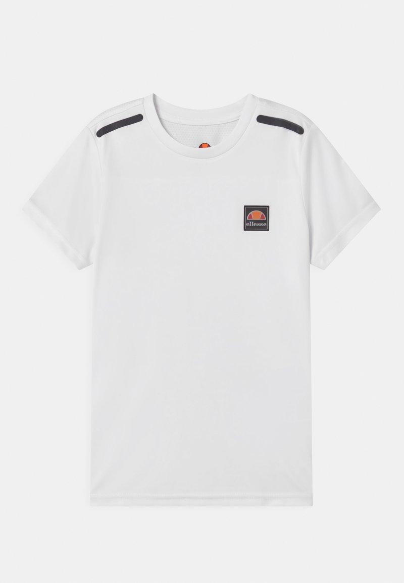 Ellesse - ROLLO UNISEX - Print T-shirt - white