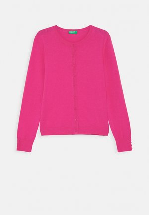 BASIC GIRL  - Strikjakke /Cardigans - pink
