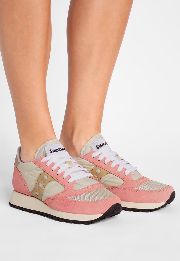 Saucony - JAZZ VINTAGE - Trainers - tan/muted clay