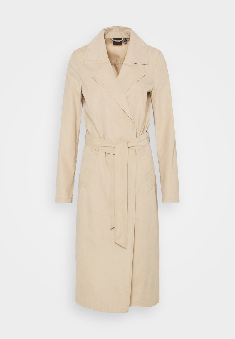 Vero Moda Tall - VMBILLIEDAISY JACKET - Trenchcoat - tan