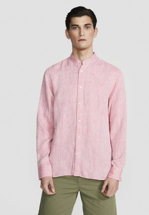 Shirt - silver pink
