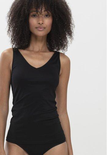2 IN 1 - Undershirt - schwarz