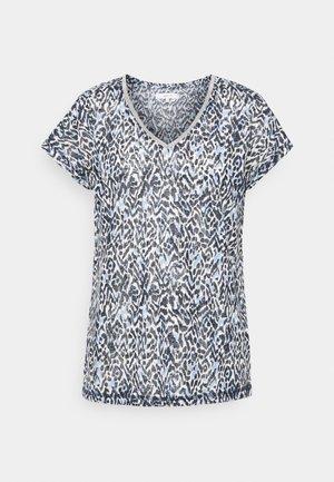 ARETHA - Print T-shirt - bright blue