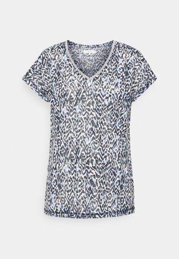 ARETHA - T-shirt imprimé - bright blue