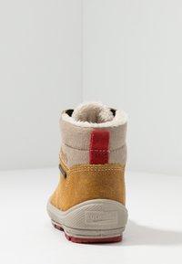 Superfit - GROOVY - Winter boots - gelb/beige/rot - 3