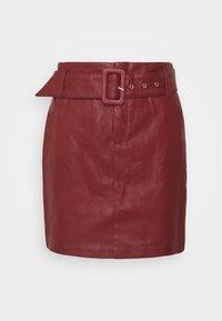 ONLJESSIE SKIRT - Mini skirt - fired brick