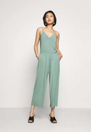 FESTIVE OVERALL WITH STRAPS - Combinaison - dust green