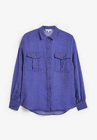 Next - Button-down blouse - blue-grey - 5