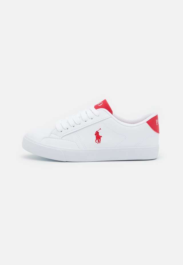 THERON UNISEX - Sneakers laag - white tumbled/red