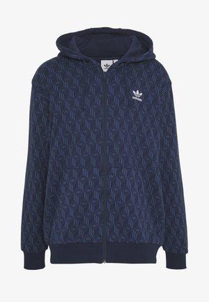 GRAPHICS GRAPHIC HODDIE PULLOVER - Zip-up hoodie - nmarin/nindig