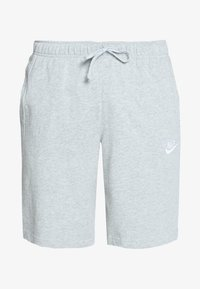 Nike Sportswear - CLUB - Shorts - dark grey heather/white - 4