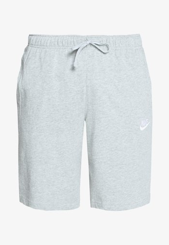 CLUB - Shorts - dark grey heather/white