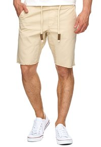 INDICODE JEANS - CARVER - Denim shorts - beige - 2