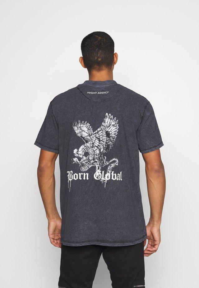 DURK - T-shirts print - black