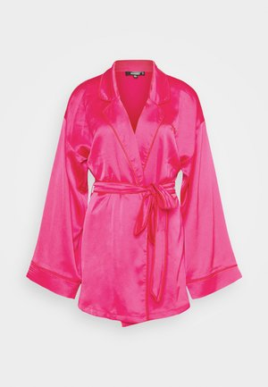 SCROLL ROBE - Dressing gown - pink