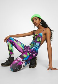 Jaded London - SQUARE NECK CATSUIT - Jumpsuit - multi-coloured - 3