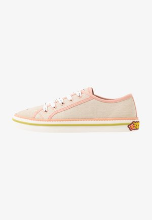 MELLI LACE SHOES - Trainers - fog beige grey/coral