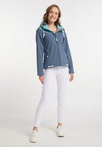 Schmuddelwedda - Soft shell jacket - graublau - 1