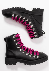 Faith - BUCK - Lace-up ankle boots - black - 3