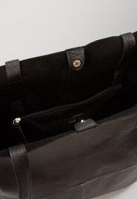YAS - YASLOMA TOTE ICONS - Tote bag - black - 4