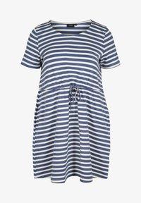 twilight blue/stripe