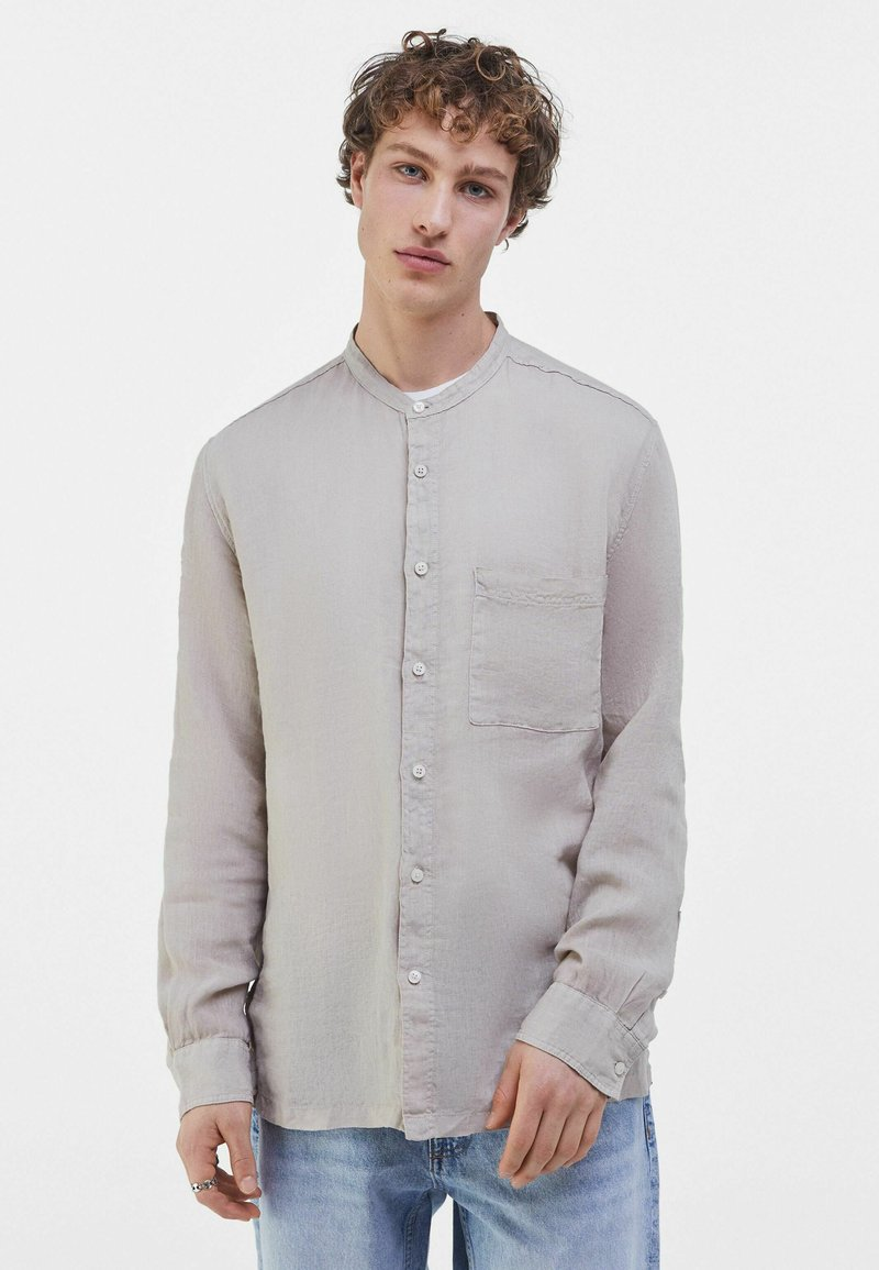 Bershka - Košile - beige