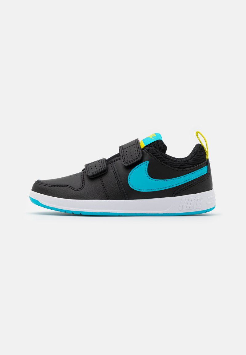 Nike Performance - PICO 5 UNISEX - Sportschoenen - black/chlorine blue/high voltage/white