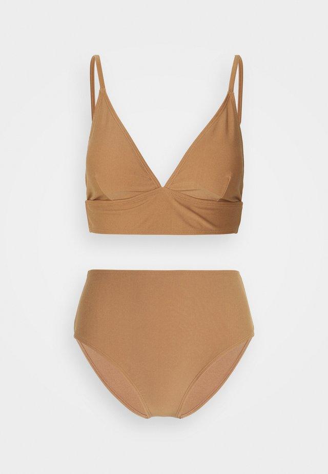 VMALYSSA SWIM SET - Bikini - raw umber