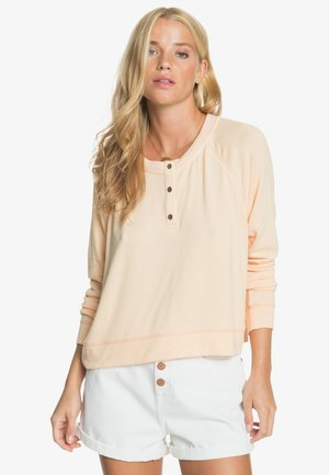 Long sleeved top - apricot ice