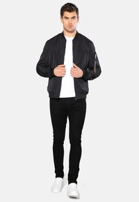 Threadbare - Giubbotto Bomber - schwarz - 1