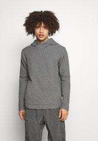 Nike Performance - YOGA - Hoodie - dark grey/heather/black - 0