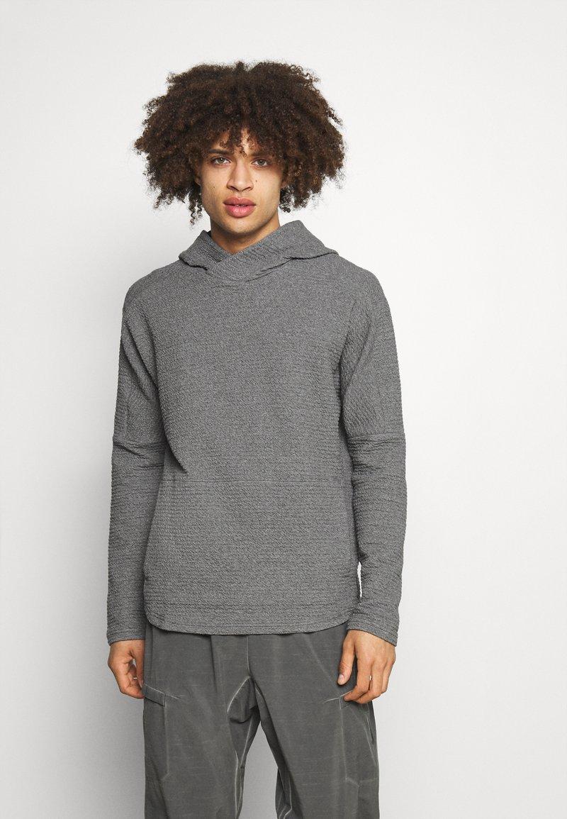 Nike Performance - YOGA - Hoodie - dark grey/heather/black
