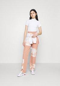 Monki - T-shirt basique - white - 1