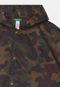 Benetton - UNISEX - Waterproof jacket - green - 2