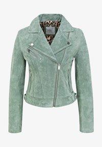 Rino&Pelle - DAMINA - Leather jacket - green - 3