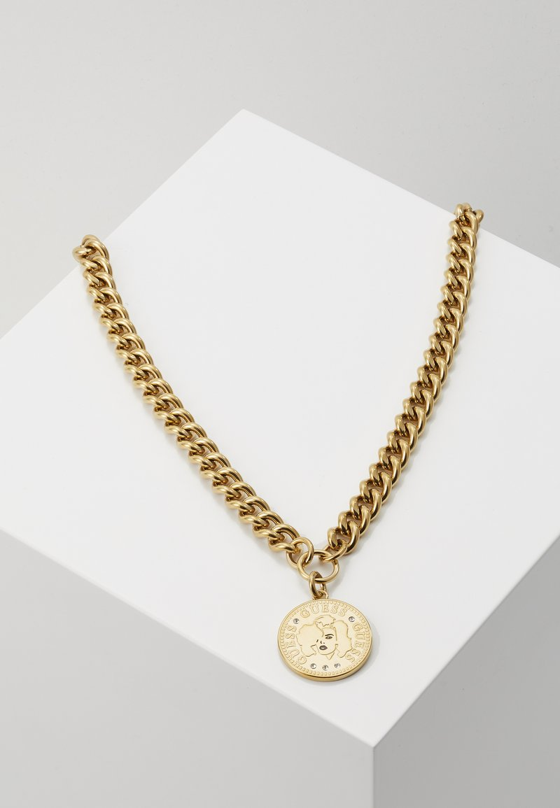 Guess - COIN - Necklace - gold-coloured