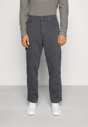 UTILITY TROUSER - Kalhoty - grey