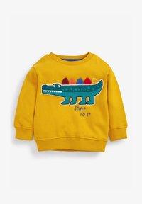 Next - BOUCLÉ - Sweatshirt - yellow - 0