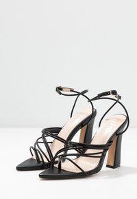 RAID - GLADDIN - Sandaler med høye hæler - black - 4