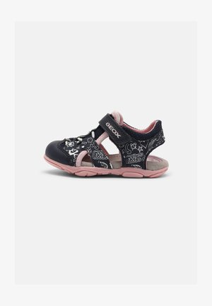 AGASIM GIRL - Walking sandals - navy/pink